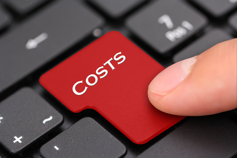 Are your costs higher than expected?