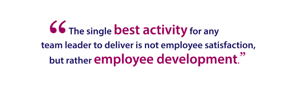 Deliver employee development