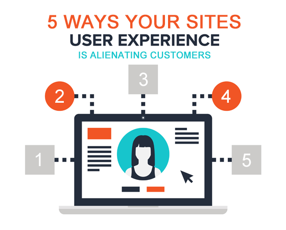 5 Ways User Experience is Alienating Customers