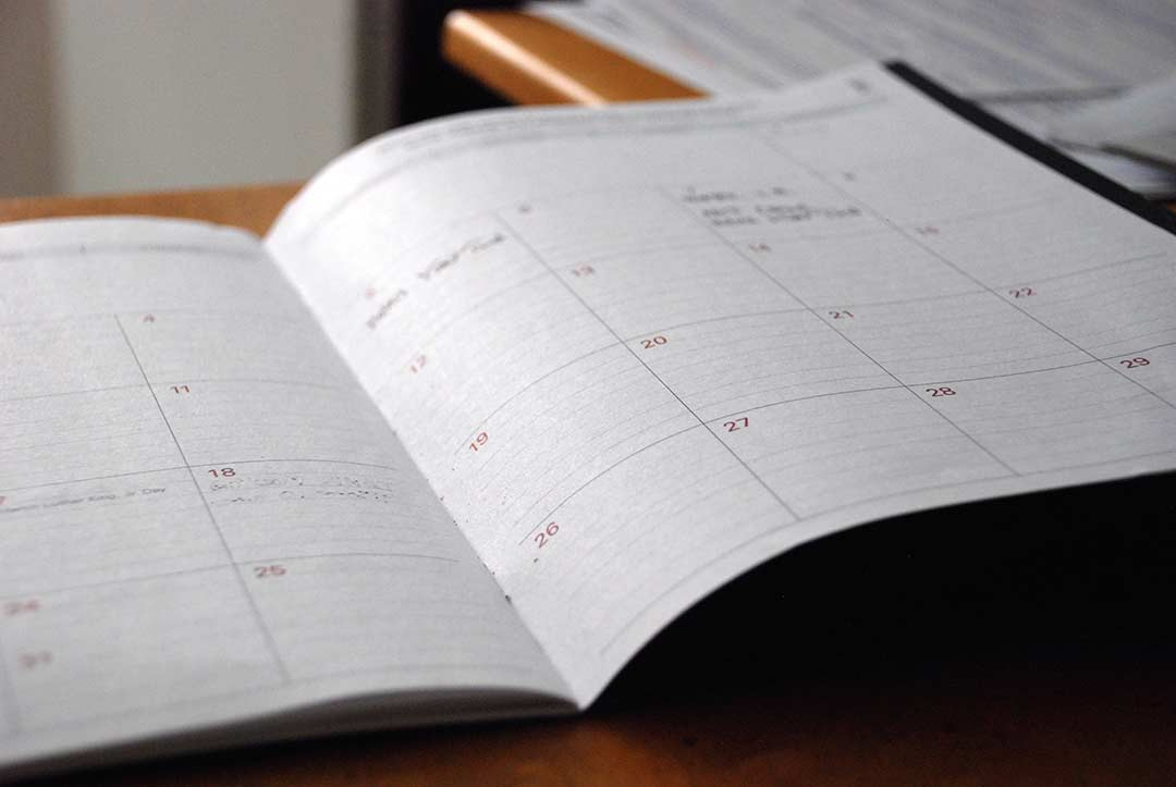 Let Your Schedule Keep You Grounded