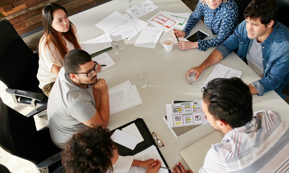 Ask your team what they think – brainstorming ideas