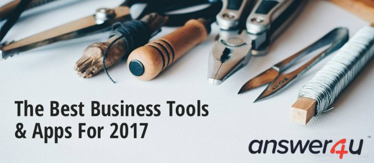 The Best Business Tools & Apps For 2017
